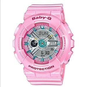 Baby-g pink women's watch